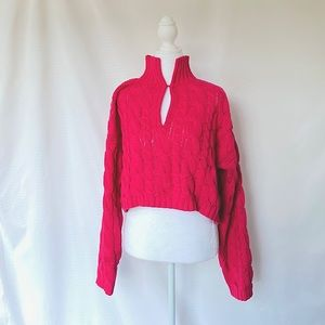 NWOT chunky knit sweater